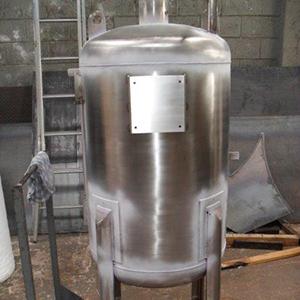 Vaso de pressão aço inox