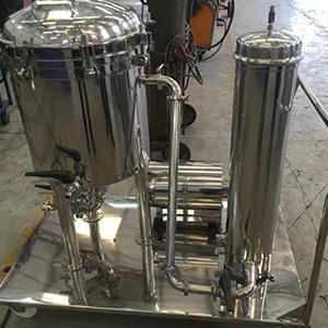 Filtro de placas para cerveja